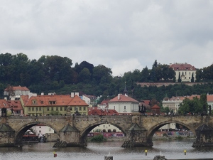 View to CHarles Bridge